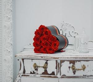 Rosas preservadas - Colección Rubí