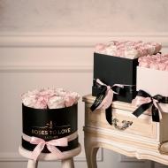 Regalar una Rosa rosa es un tributo a la esencia de la mujer, a su:· delicadeza · ternura · dulzura · eleganciaEs una demostración de intenciones románticas y sinceras, con la promesa segura de alcanzar un amor profundo, en su mayor expresión. 💖💖💖💖Díselo a esa persona que tienes en mente con una caja #ROSESTOLOVE🌹