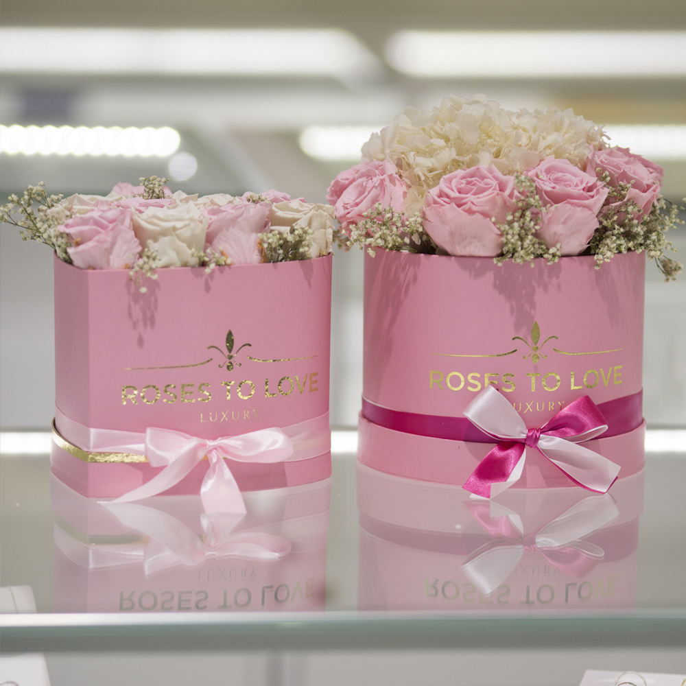 Rosas preservadas para empresas